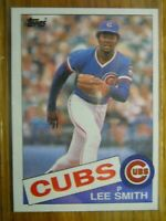 1985 TOPPS CARD # 511 LEE SMITH