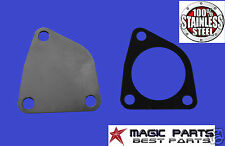 EGR VALVE BLANKING PLATE & GASKET VAUXHALL RENAULT 1.9 dCi DTI STAINLESS STEEL