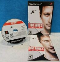 Tony Hawk's Project 8 (Sony PlayStation 2, 2006) with Manual - Tested & Working