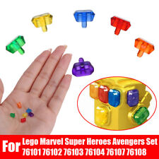 6Pcs Gems Infinity Power Stones For Lego Marvel Super Heroes Avengers Set 76101