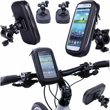360° Waterproof Bike Mount Holder Case Bicycle Cover For Samsung iPhone Huawei