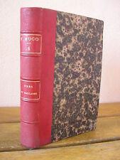 Victor HUGO : ODES ET BALLADES  HACHETTE 1862