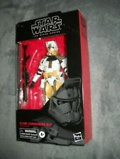 STAR WARS BLACK CLONE COMMANDER BLY 104