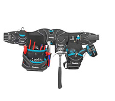 Makita Carpenter Electrician Construction Utility Tool Belt with Pouches P71897