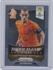 2014 PANINI PRIZM WORLD CUP WESLEY SNEIJDER STARS 22 NETHERLANDS GALATASARAY