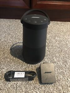 Bose SoundLink Revolve Plus Portable Bluetooth Speaker - Triple Black