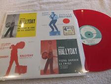 "maxi 45t  Johnny Hallyday  ""4 juke-box sur 1 maxi 45T""   vinyle RED"