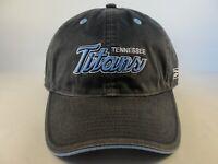 Tennessee Titans NFL Reebok Strapback Hat Cap Gray