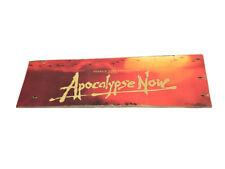 Apocalypse Now War Movie Poster Design Distressed Old Pallet Wood Sign