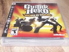 Guitar Hero: World Tour (Sony PlayStation 3, 2008) Complete!!!