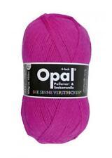 Opal Sockenwolle Uni 4-fach 100g Strumpfwolle wolle Pink