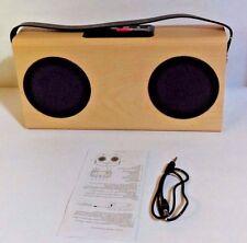 Wooden Bluetooth Speaker With FM Radio