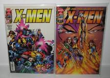 X-MEN #1+2 Wolverine Storm Jean Grey psyclops Charles X XAVIER Marvel