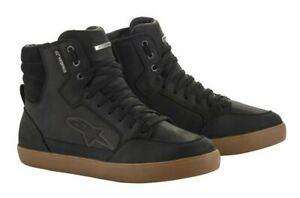 Alpinestars J6 WP Black/Gum metal Waterproof Motorcycle Ankle Shoes US SIZES J-6
