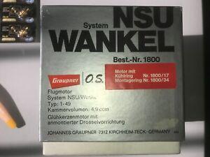 GRAUPNER / OS  MAX  Wankelmotor