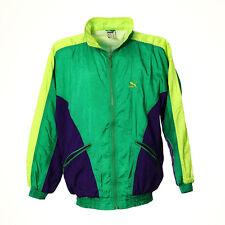 Puma Vintage Jacke Größe S Retro Sport Windbreaker Zip Track Jacket Stehkragen