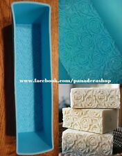 Flower Rose Loaf Silicone Silicon Rubber Soap Jelly Mold Molder