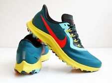 Nike Air Zoom Pegasus 36 Trail. Teal/Black/Chrome Yellow/Bright Crimson. Women's