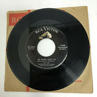 "Perry Como ‎– Papa Loves Mambo/The Things I Didn't Do RCA 47-5857 7"" Vinyl"
