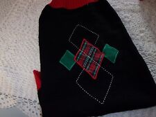 Holiday Argyle Dog Sweater Christmas Hoodie XL new pet Petco XLarge