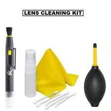 Camera & Camcorder Lens Cleaning Kit (Air Dust Blower, Pen Dust Brush, 3pc Kit)