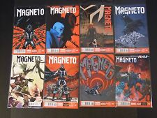 Marvel Comics NOW! Magneto 3 4 5 -- 6 Guardians Galaxy variant --  7 8 9 NM