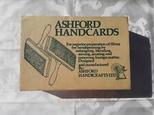 Ashford Hand Carders 108 Tpi for Cotton or Other Fine Fibers