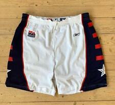 Rare Reebok Vintage Dream Team USA Olympics Basketball Shorts XL