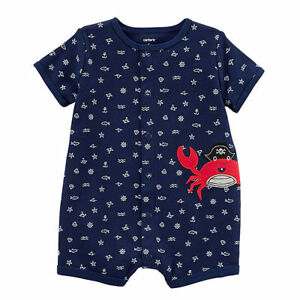 Carters Baby Boys Creeper (Crab) - Choose Size
