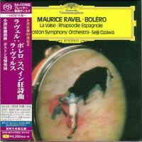 SEIJI OZAWA-RAVEL: BOLERO. RAPSODIE...-JAPAN MINI LP SHM-SACD Ltd/Ed K29