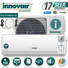 12000 Btu Mini Split Air Conditioner Heat Pump Ductless 115V Innovair 17 Seer