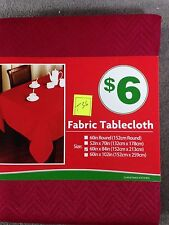 """Fabric Table Cloth 60"""" x 84 """" Fabric Tablecloth (T-36)"""