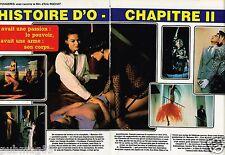 Coupure de Presse Clipping 1984 (4 pages) Film Histoire d'O