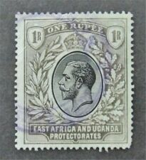 nystamps British East Africa & Uganda Protectorates Stamp # 49a Used $60