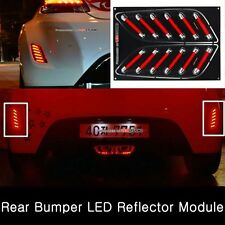 (Fits: Hyundai 2012+ Veloster) Rear Bumper LED Reflector Light Assembly MODULE