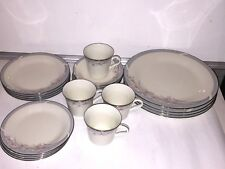 American Royalty First Lady 20 Piece Dinnerware Set 5 Piece Serving For 4