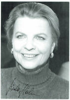 Gisela Hahn - Verbotene Liebe - original signierte Autogrammkarte - hand signed