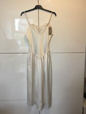 New Tags 1980s Marks & Spencer St Michael M&S Ladies Women's Dress Size 12 Cream