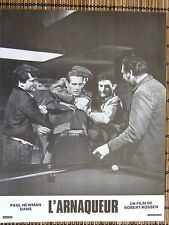 PAUL NEWMAN PHOTO EXPLOITATION LOBBY CARD L'ARNAQUEUR
