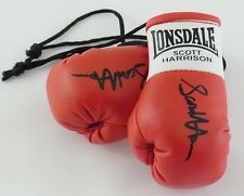 Autographed Mini Boxing Gloves Scott Harrison