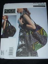 VOGUE #V1311- DESIGNER KOOS COUTURE - LADIES BEAUTIFUL CONTRAST TOTE PATTERN  FF