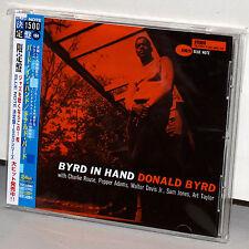BLUE NOTE CD TOCJ-6584: DONALD BYRD - Byrd In Hand - OOP JAPAN 2005 OBI NEW