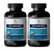 BRAIN AND MEMORY BOOSTER  - Bacopin - Acetyl-L-Carnitine - 2B
