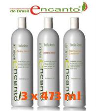 ENCANTO do Brasil Brazilian Keratin Treatment Straightening 3 x 473 ml