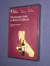 Teaching Co Great Courses  DVD        WINES  of  CALIFORNIA      new & sealed