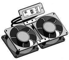 Elektronischer Doppel-Kühlschranklüfter, Lüfter, Kühlschrank, Wohnwagen, Camping