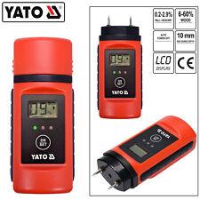 LCD Feuchtemessgerät Feuchtemesser Feuchtigkeitsmessgerät Holzfeuchte Detector
