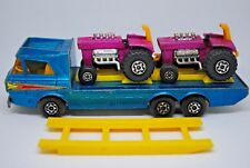 Matchbox SuperKings K-21 TRACTOR Transporter w/ RAMP + 2 x Hot Rod MOD TRACTORS