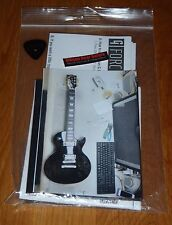 Gibson Les Paul Lpm Case Candy Ebony Manual Warranty Wrench Guitar Parts Black