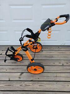 Clicgear Golf 3-Wheel Rovic Junior Push Cart Model RV3J  Orange